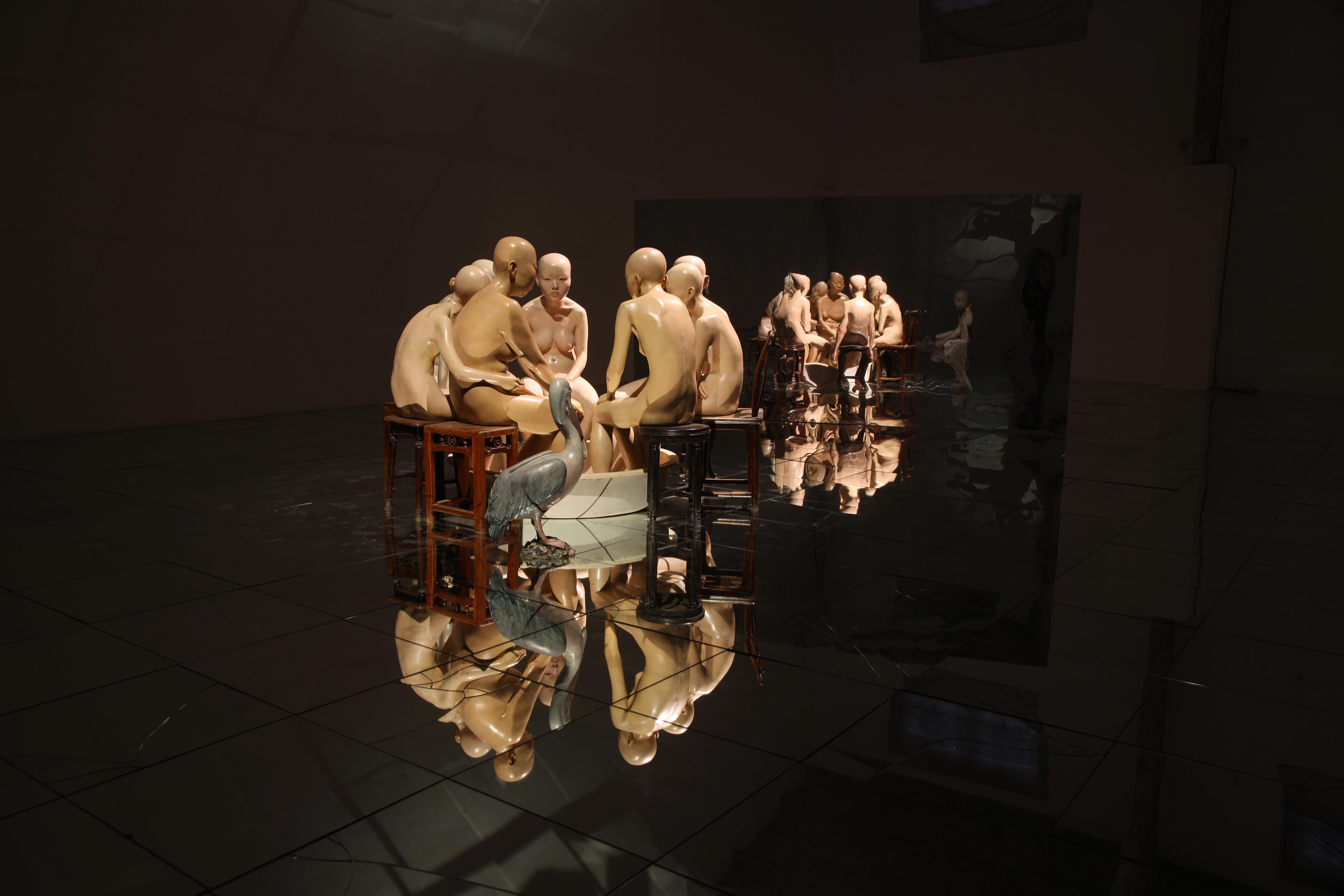 Xiang Jing exhibition, Naked Beyond Skin